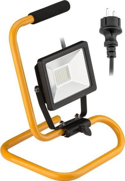 LED Baustrahler mit Standfuß, 20 Watt
